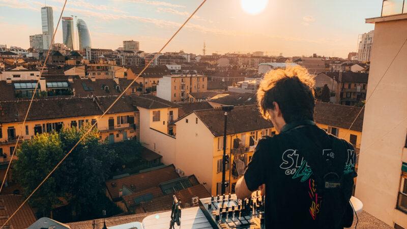 Alij – il dj che fa sognare dal cielo